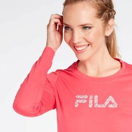 Camiseta Fila Fucsia