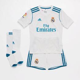 Equipación Real Madrid Niño adidas