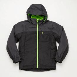Parka Negra Junior Up Jemna