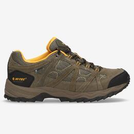 Zapatos Montaña Hombre Hi Tec Low Marrón