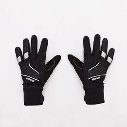 Guantes Ciclismo Softshell Negro Mítical