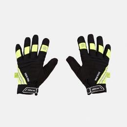 Guantes Ciclismo Negro Verde Mitical WindShield