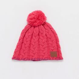 Gorro Lana Junior Boriken Rosa