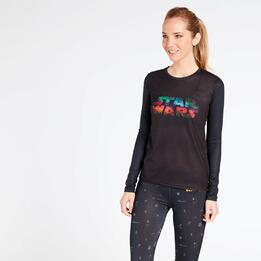 Camiseta Star Wars Mujer Negra
