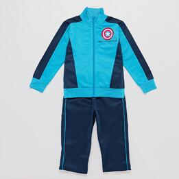 Chandal Marvel Azul Niño