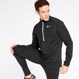 Sudadera Running Nike Negra