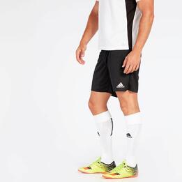 Pantalón fútbol adidas Parma Negro Hombre