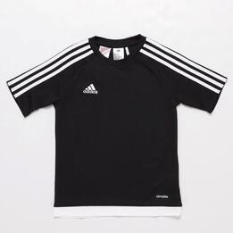 Camiseta adidas Estro 15 Gris Niño