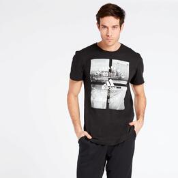 Camiseta adidas Athletic Vibe Negra
