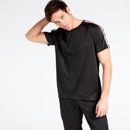 Camiseta adidas D2M Negra