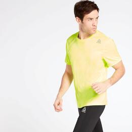 Camiseta Running Reebok Amarilla