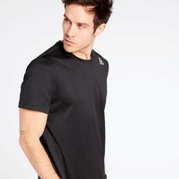 Camiseta Running Reebok Negra