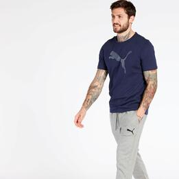 Camiseta Puma Azul Marino