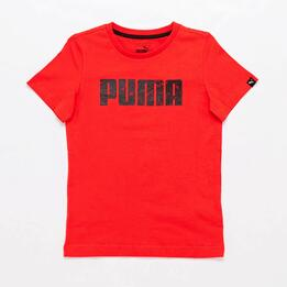 Camiseta Puma Roja Jr
