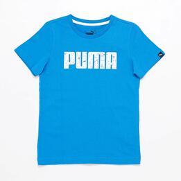 Camiseta Puma Azul Jr