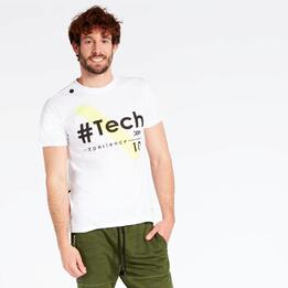 Camiseta Blanca Silver Equipment Tech