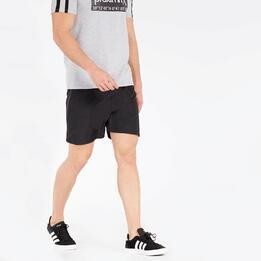 Pantalón Corto Negro Silver Essentials