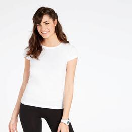 Camiseta Manga Corta Blanca Up Basic