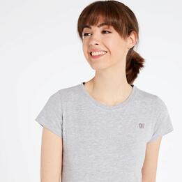 Camiseta Gris Up Basic