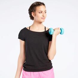 Camiseta Fitness Negra Ilico