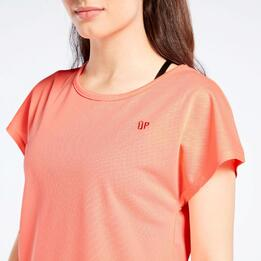 Camiseta Rejilla Coral Up Basic