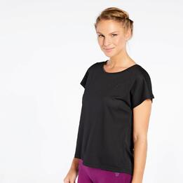 Camiseta Rejilla Negra Up Basic