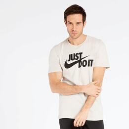 Camiseta Nike Marrón