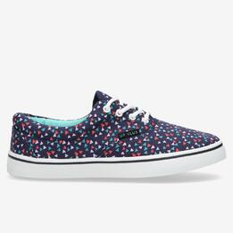 Zapatillas Lona Azules Up Vansy