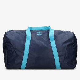 Bolsa Deporte Plegable Azul Ilico Basic