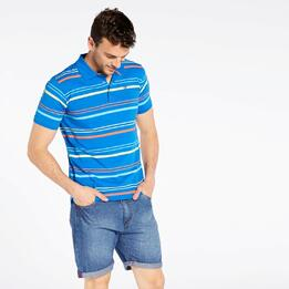 Polo Azul Rayas Up Basic
