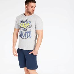 Camiseta Gris Up Stamps