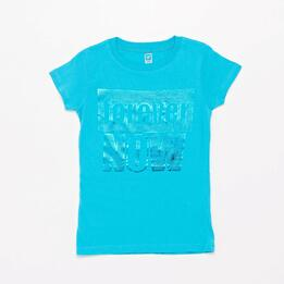 Camiseta Up Stamps Niña