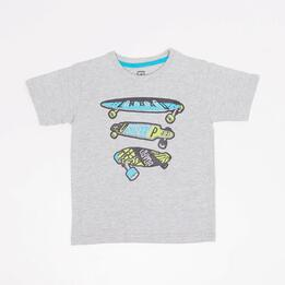 Camiseta Up Stamps Niño