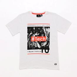 Camiseta Gris Junior Silver Art-Tech