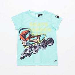 Camiseta Silver Skate&Roll Energy