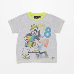 Camiseta Silver Geo Street Energy Niño