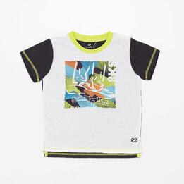 Camiseta Niño Silver Geo Street