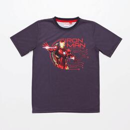 Camiseta Iron Man Junior