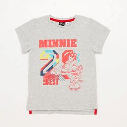 Camiseta Minnie Gris Niña