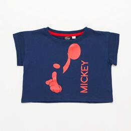 Crop Top Mickey Niña