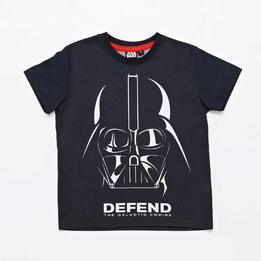Camiseta Darth Vader Negra Niño