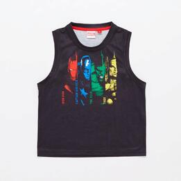 0AV MARVEL KID CAMISETA TIR.ANCHO ALG.