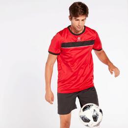 Camiseta Fútbol Dafor Roja