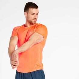 Camiseta Running Naranja Ipso Basic