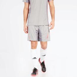 Pantalón Fútbol Gris Dafor Combi