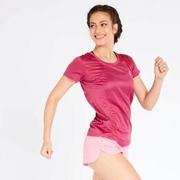 Camiseta Running Morada Ipso