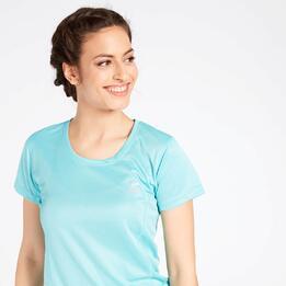 Camiseta Running Celeste Ipso