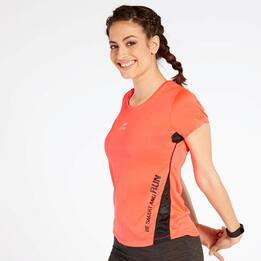 Camiseta Running Roja Ipso Combi 1