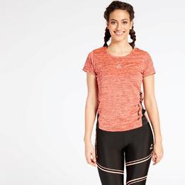 Camiseta Running Coral Ipso Combi 3