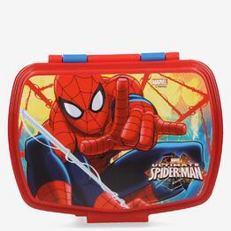 Sandwichera Spiderman Plástico